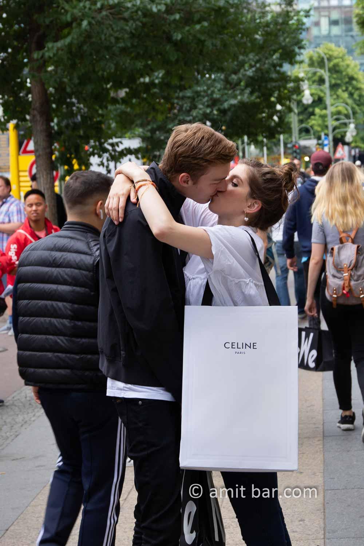 Celine: Last kiss as goodbye