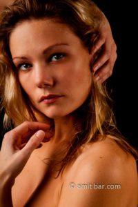 Eyes: Nude portrait