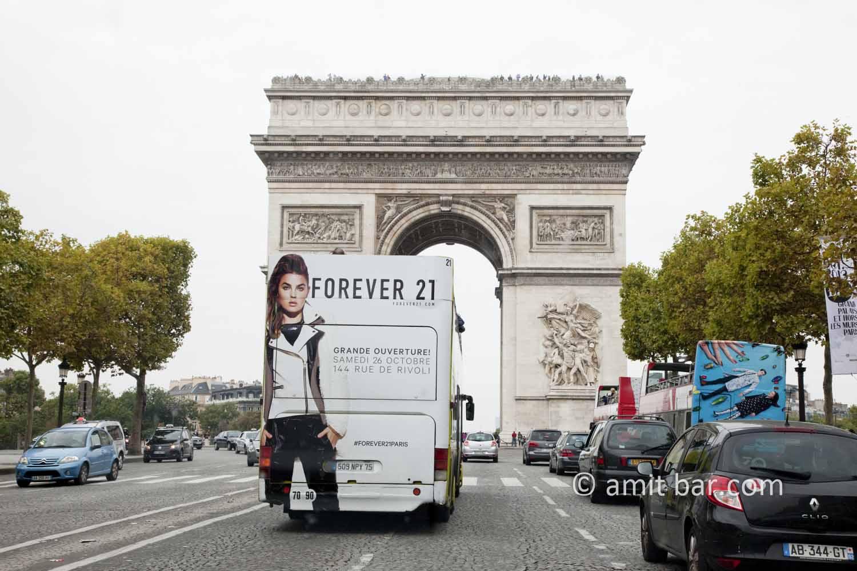 Paris: Forever 21: Paris snapshot