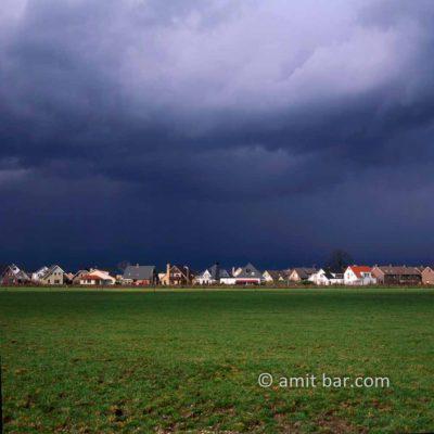 Storm clouds above Doetinchem